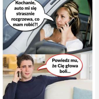 Nagrzane auto