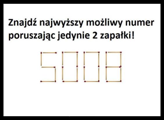 1463Znajdź najwyższy możliwy numer