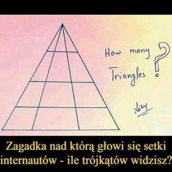 Ile tu jest trójkątów?