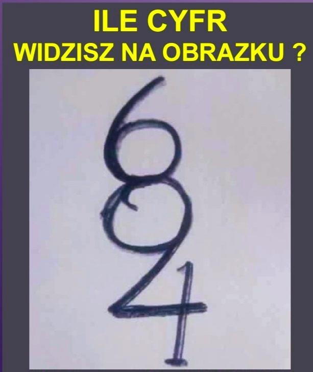 1813Ile widzisz cyfr?